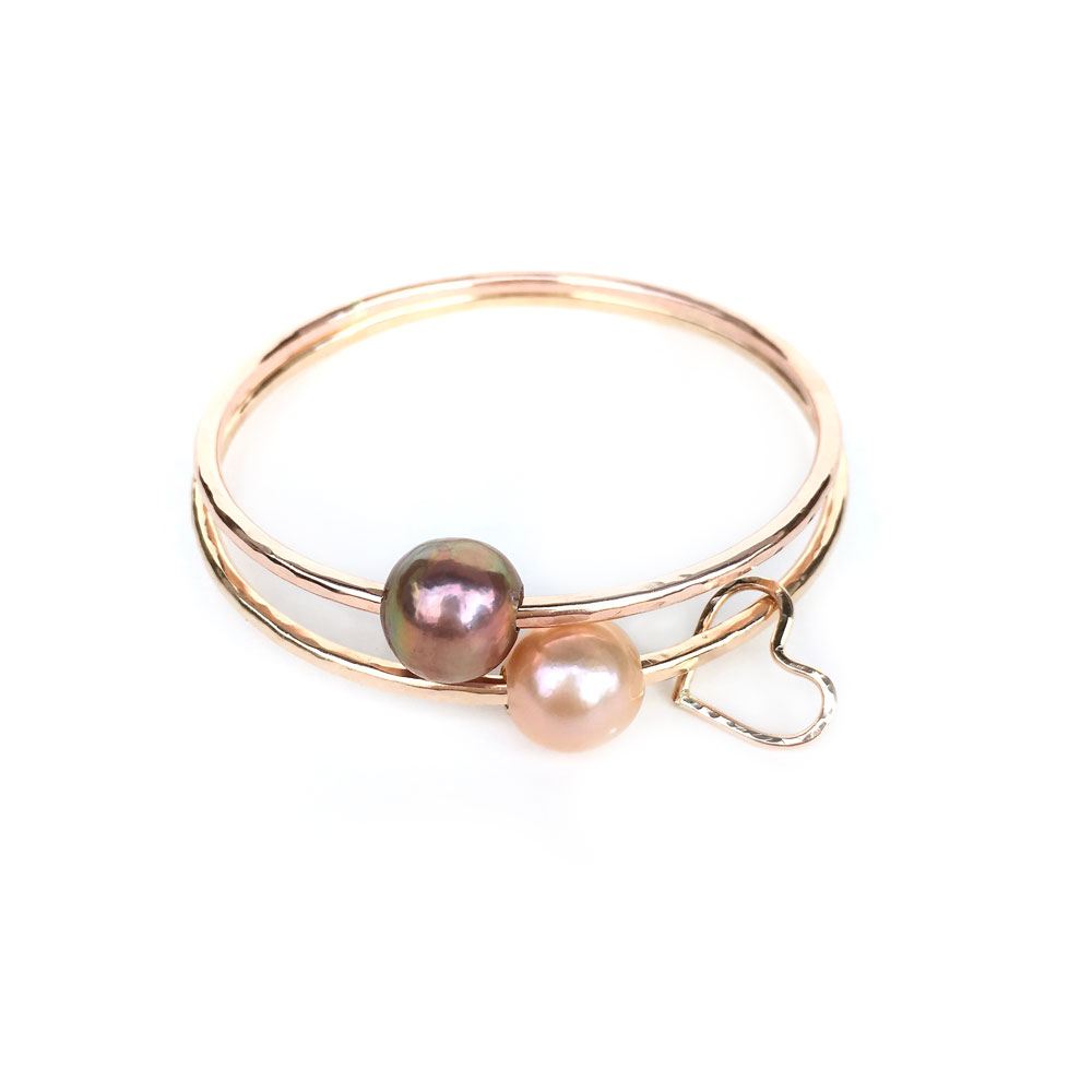handmade listing bracelet bangle pearl rose en sg wrapped il jewelry gold wire bangles